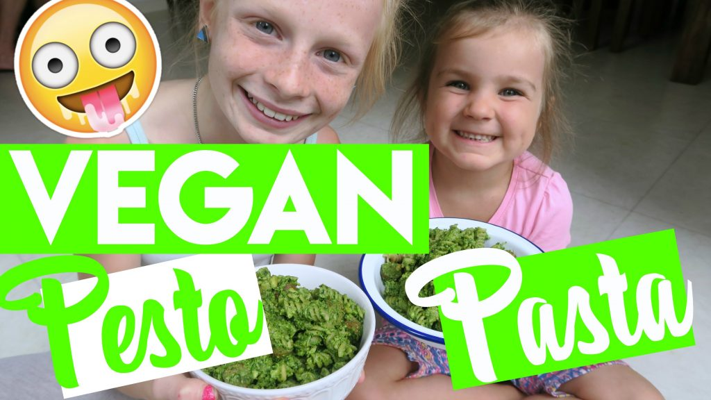 Vegan Pesto Sauce & Pasta Recipe