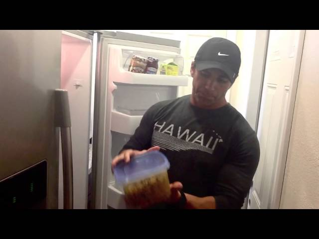 Trainer Tony Martinez's Superfoods List: What's In His Fridge?