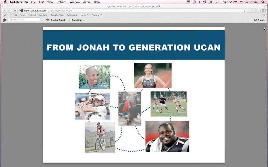 UCAN Stories Webinar ::Optimize Your Health, Fitness, and Performance (1-17-13)