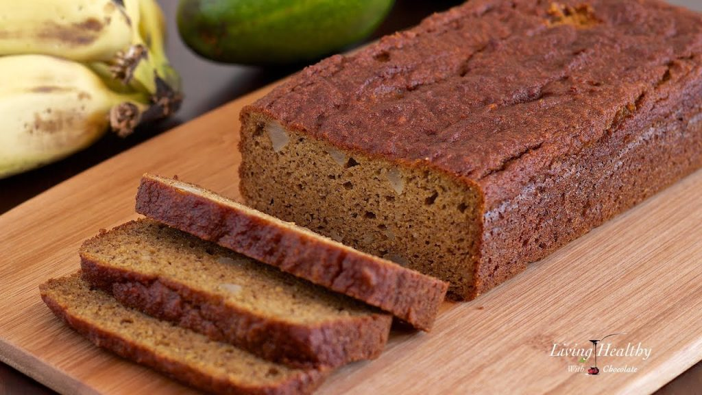Avocado Banana Bread Recipe (gluten/grain/dairy-free,Paleo/Vegan)