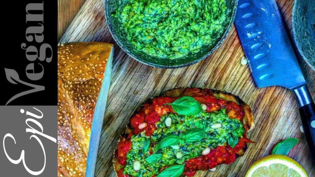 Rustic Vegan Pesto