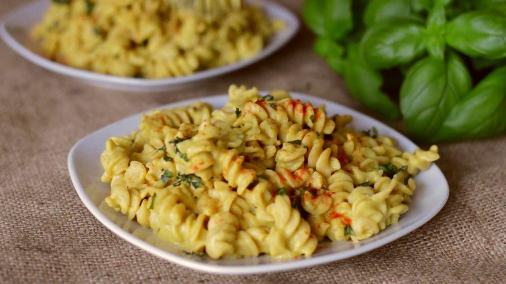 Cheesy Protein Pasta – Vegan & GF