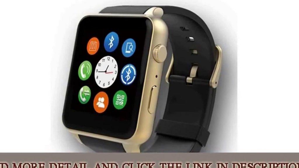 Bluetooth Smart Watch GT88 Clock Heart Rate Health Fitness Measure We