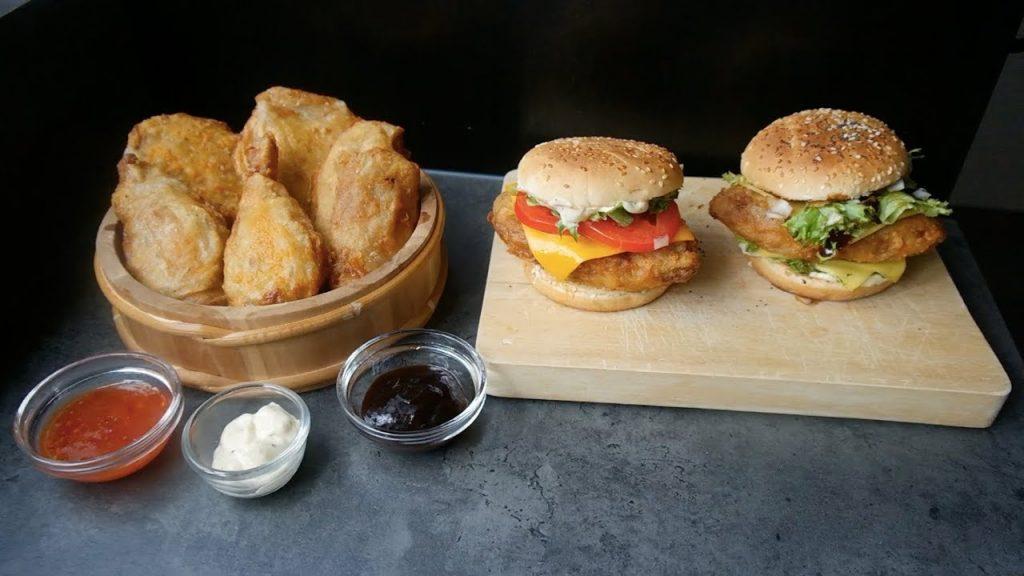 KFC's B.O.S.S. & Zinger Burger + Bucket   Veganized