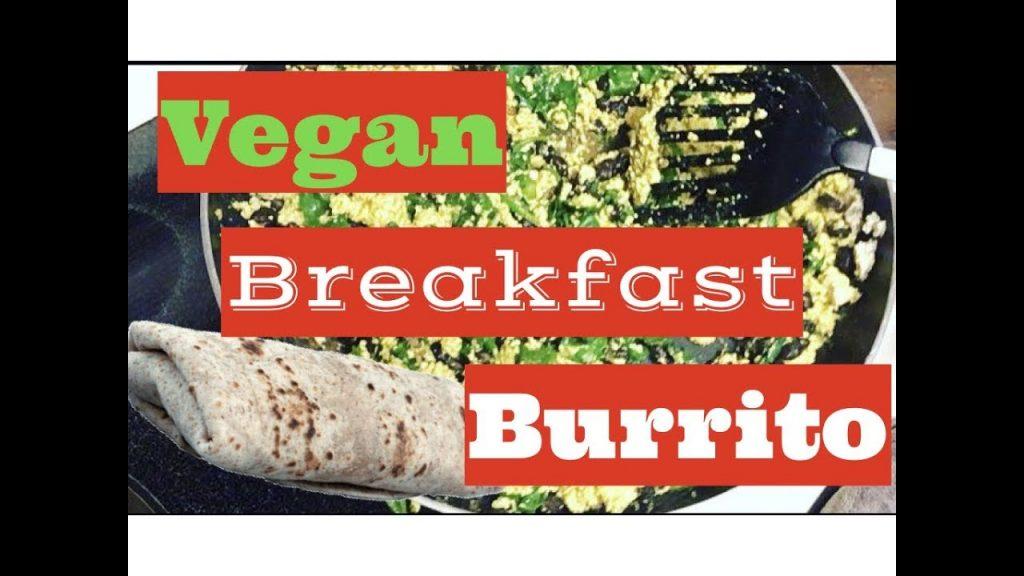 Vegan Breakfast Burrito!
