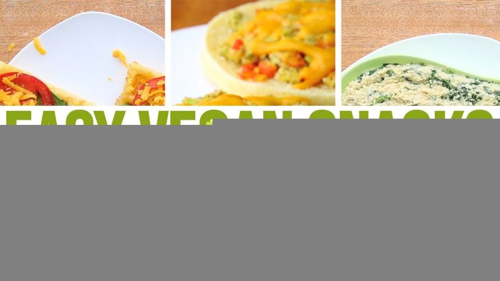 3 Vegan Snacks For Weight Loss, Vegan Easy Recipes