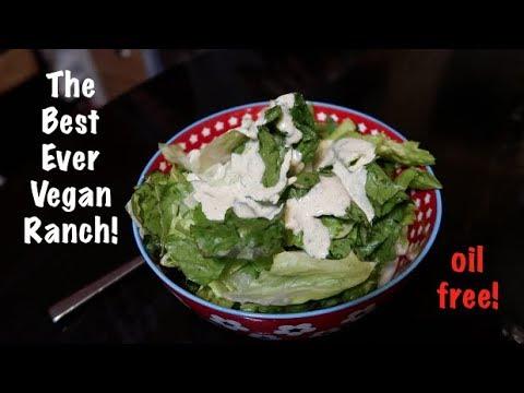 The Best Ever Vegan Ranch Dressing (oil free)
