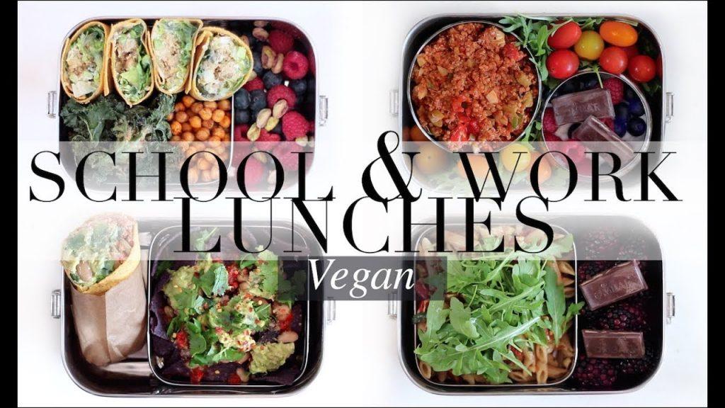 Vegan School & Work Lunches #3/Weekly Plan | JessBeautician
