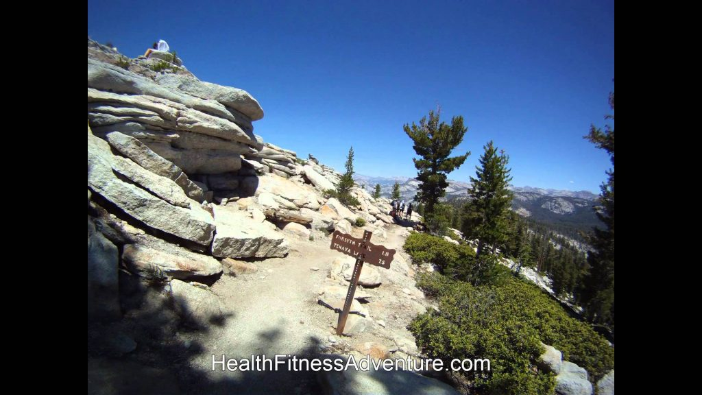 Health Fitness Adventure Hike To Clouds Rest & Back To Sunrise Trailhead Fast