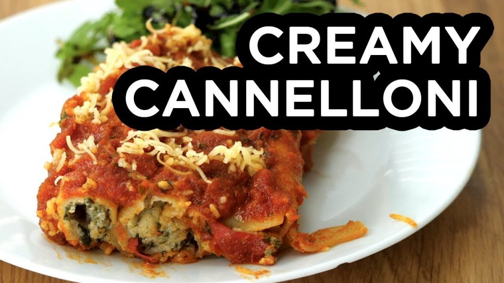 Creamy Cannelloni | BOSH! | Vegan recipe
