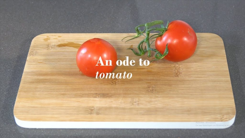 An ode to tomato