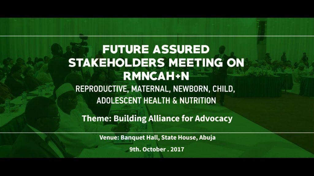 Stakeholders meeting on RMNCAH+N