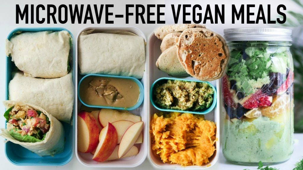 VEGAN LUNCH BOX YOU DON'T NEED TO REHEAT » Healthy + Easy + Filling