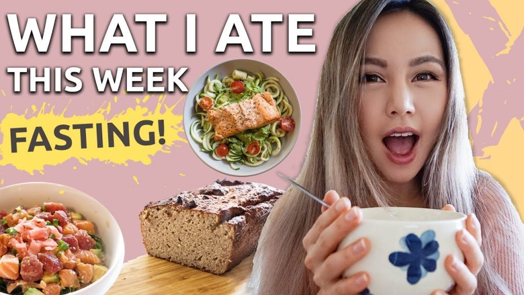 NEW WEIGHT! | Intermittent Fasting | WHAT I EAT IN A WEEK