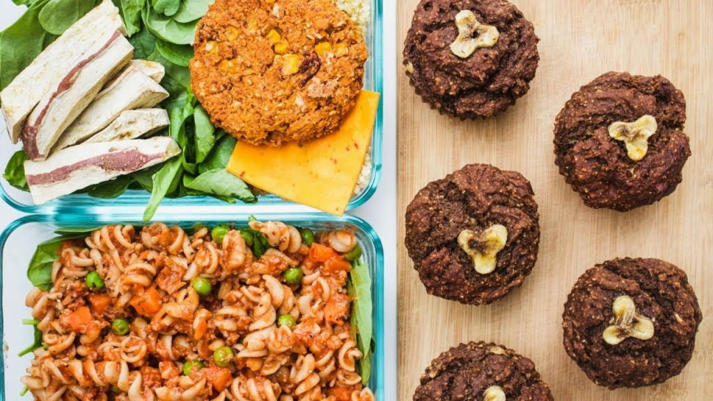 3 FAST AND HEALTHY MEAL PREP IDEAS FOR BUSY STUDENTS (VEGAN)