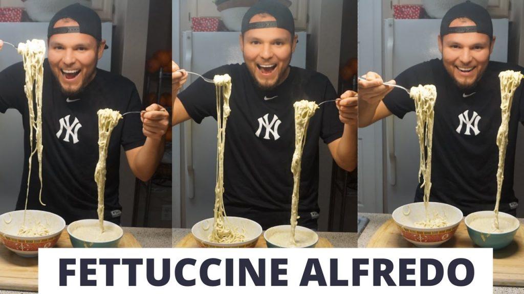 """RAW vs. Cooked: """"Fettuccine Alfredo"""""""