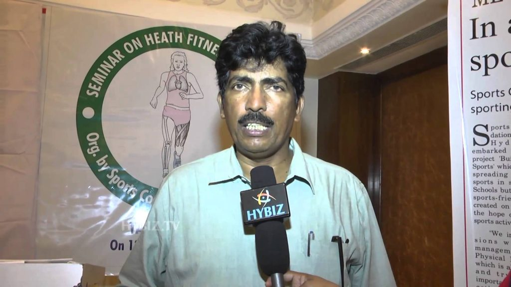 Saibaba Founder Secretary At Health Fitness-Hybiz.tv