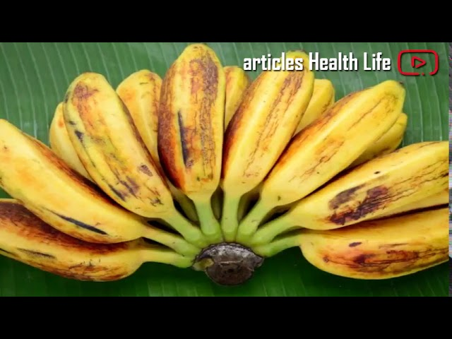 Saba Banana Health Benefits & Nutritional Facts
