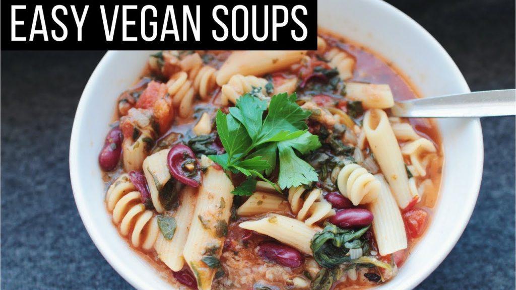 Easy Vegan Soups for Fall & Winter!