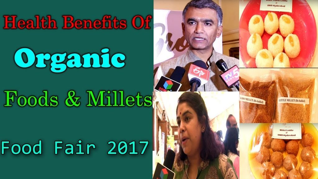 Health And Nutrition | Organic Food & Millets 2017 | Food Fair In Hyderabad | S Cube TV
