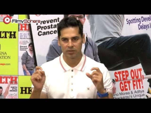 Dino Morea unveiled Health and Nutrition's Novemeber issue