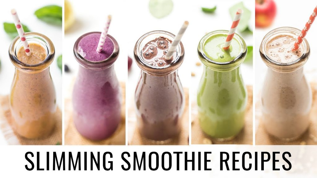 HEALTHY SMOOTHIE RECIPES   5 smoothies for weight loss