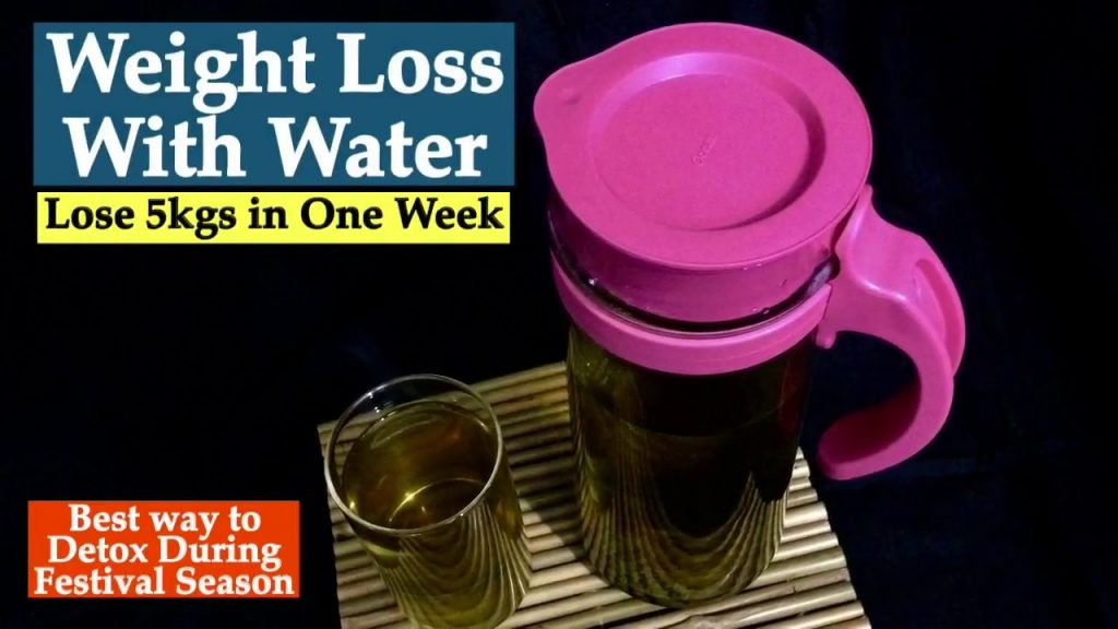 Weight Loss with Water | How to lose weight with drinking water