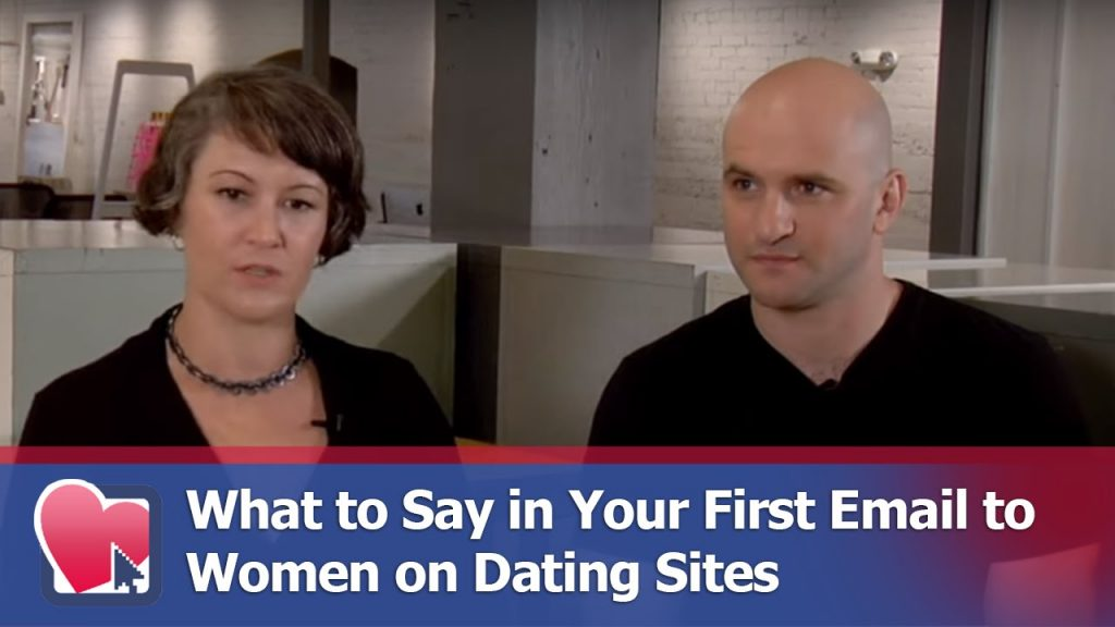 what to say first online dating email
