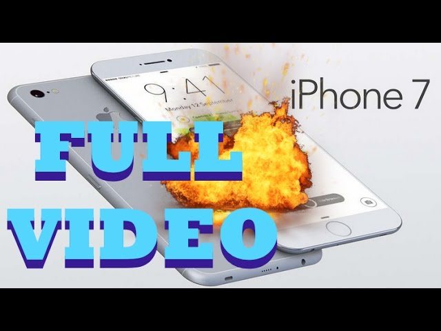 IPhone 7 exploding battery original || iPhone7 caught on fire while in transit