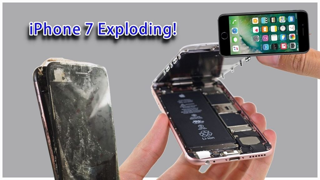 IPhone 7 Exploding!!!