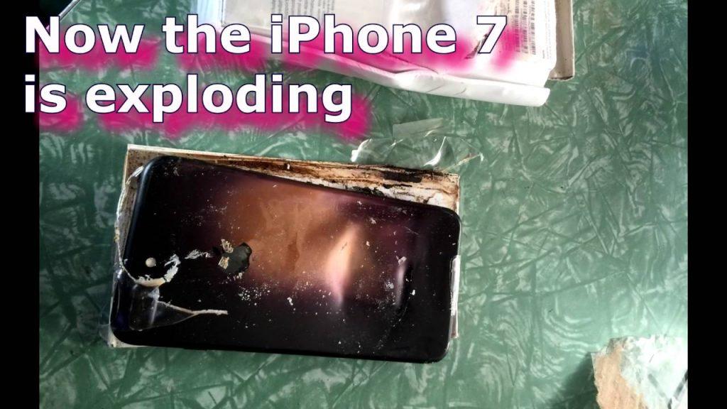 Now the iPhone 7 is exploding: Kaya hoo raha hai… Pahala Samsung Aab Apple…