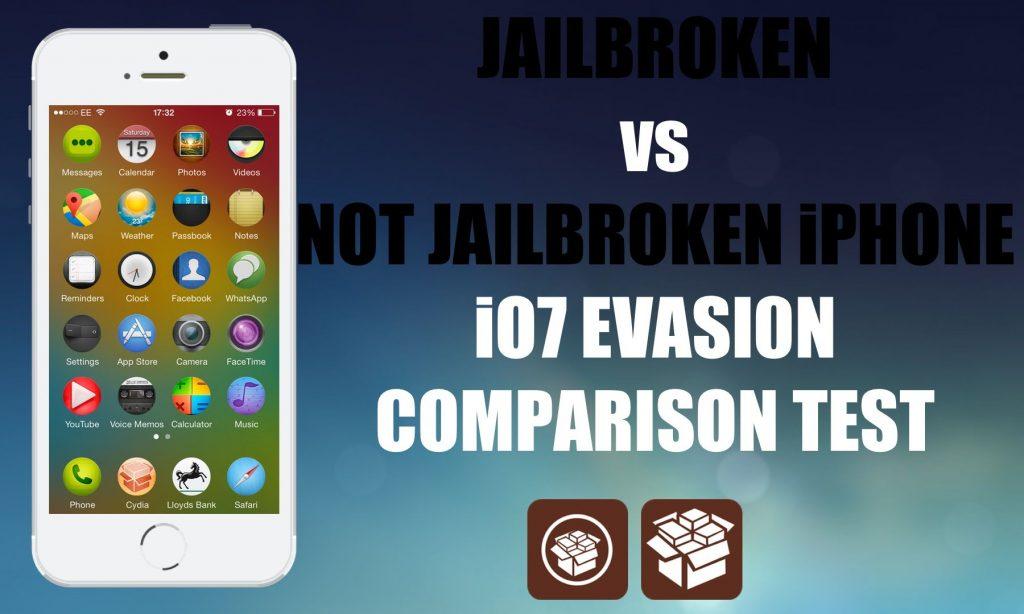 Should you Jaibreak JailBreak vs Non Jailbreak iOS 7 iPhone Comparison Test Evasi0n