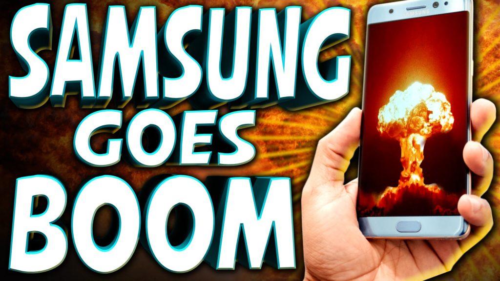 Samsung's EXPLODING PHONE Problem – TechNewsDay