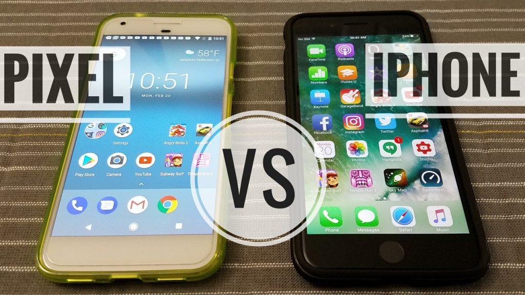Pixel vs iPhone! Comparison! (4K)