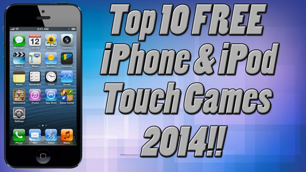 Top 10 FREE iPhone Games Of 2014!