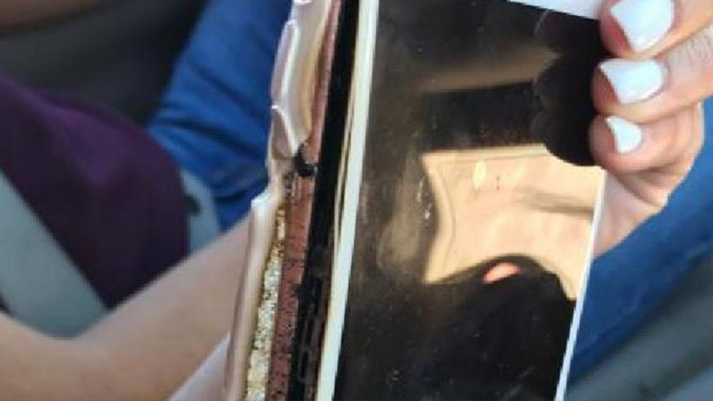 Woman Captures Her iPhone 7 Exploding On Camera