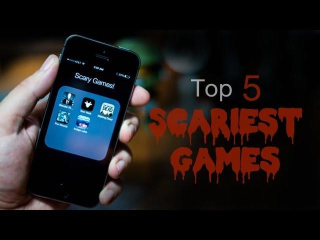 Top 5 Scariest Games For iPhone & iPod Touch 2013