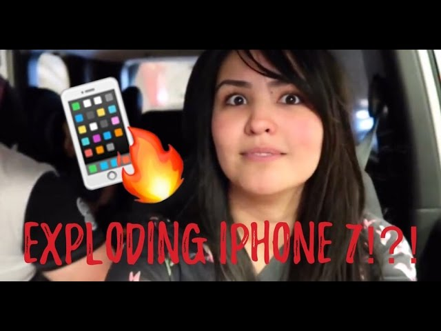 Your iPhone was about to what!?! (Exploding iPhone 7)