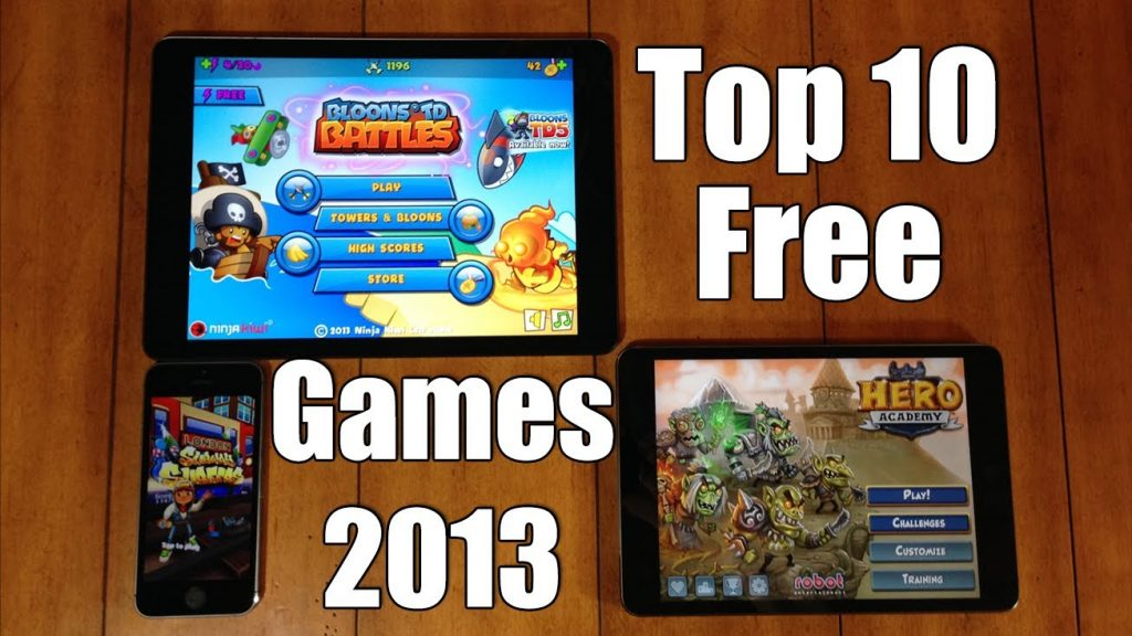 Top 10 Best FREE iOS Games for iPhone, iPod, & iPad – 2013