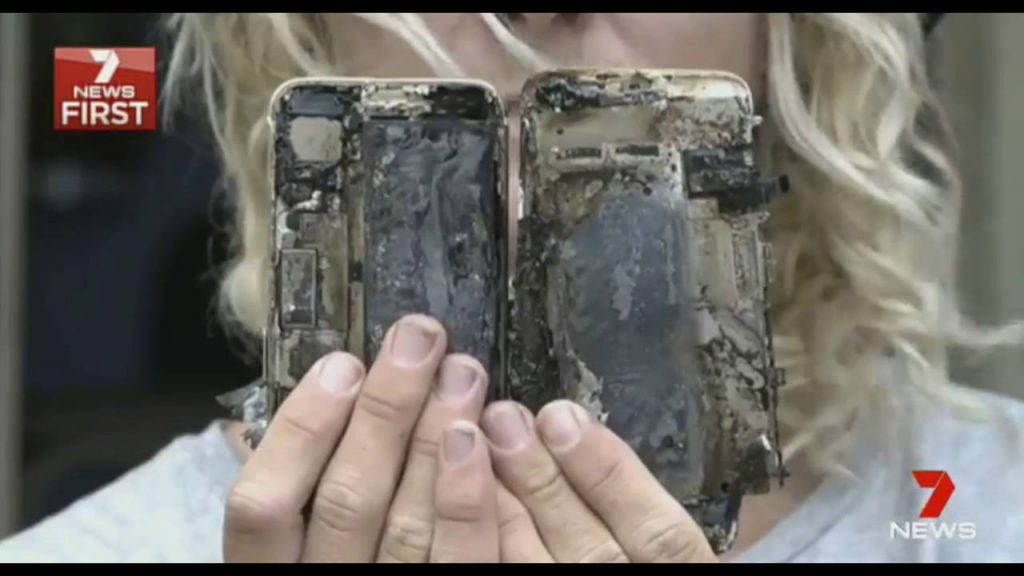 iPhone 7 Battery Explosion