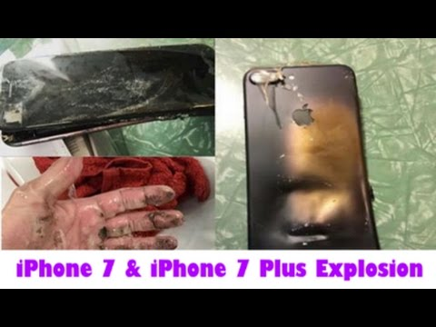 iPhone 7 Explosion 2017 || iPhone 7 Explodes!