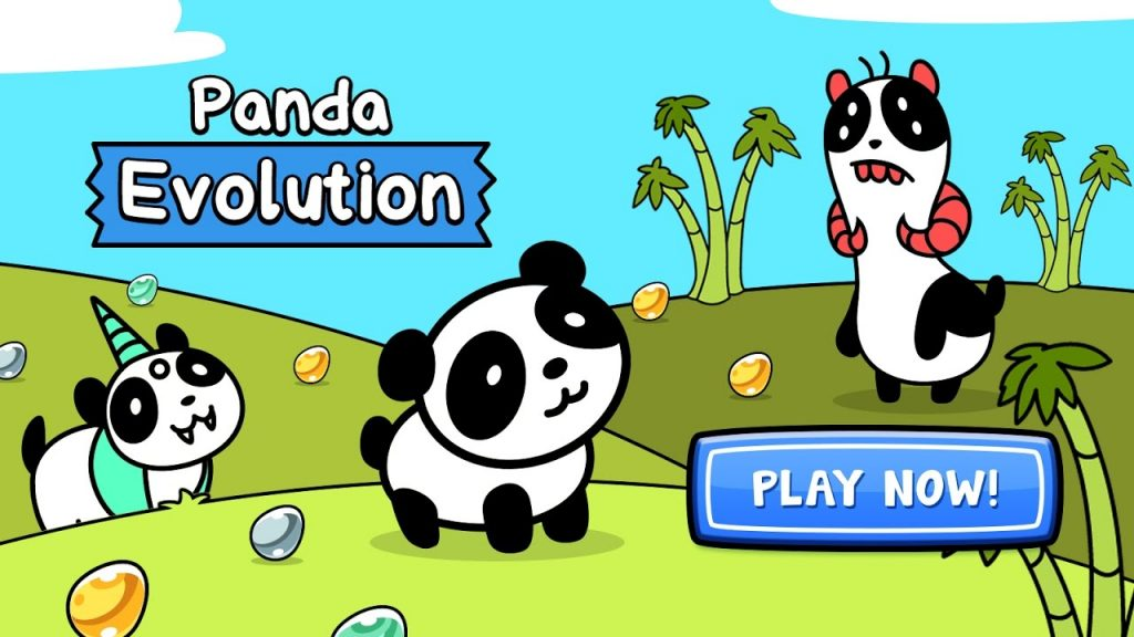 Panda Evolution – Panda Bear Clicker Game for Android and iPhone