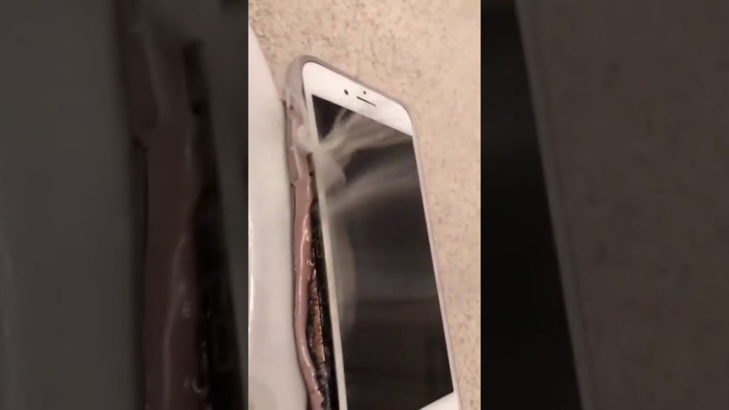 iphone 7 battery Explosion { Warning  }