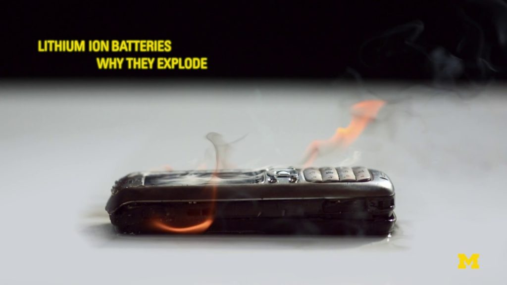 Lithium Ion Batteries:  Why They Explode