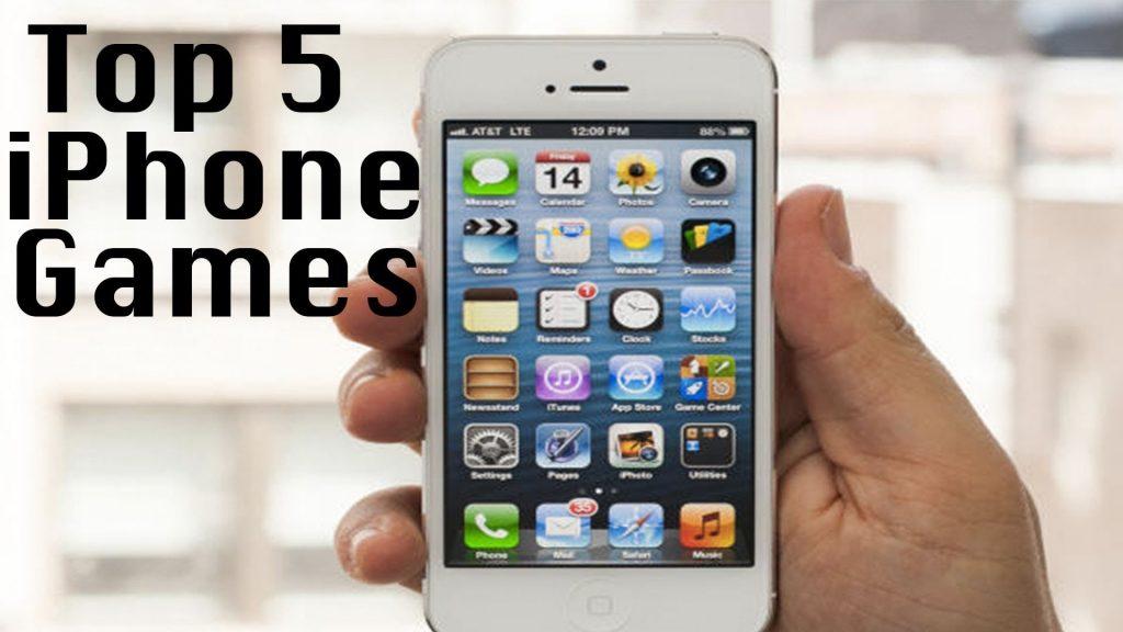Top 5 IOS Games ( iPhone/ iPod / iPad )