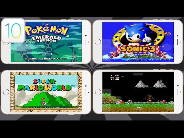 NEW Install GBA SNES NES SEGA & Games iOS 9.3.5 / 10 NO Jailbreak iPhone, iPad, iPod Touch