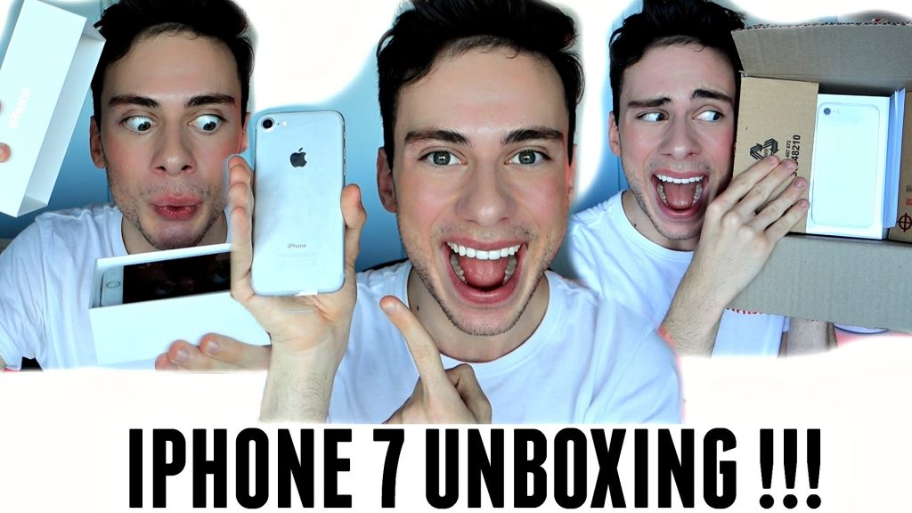 APPLE IPHONE 7 UNBOXING / FIRST IMPRESSION !!!
