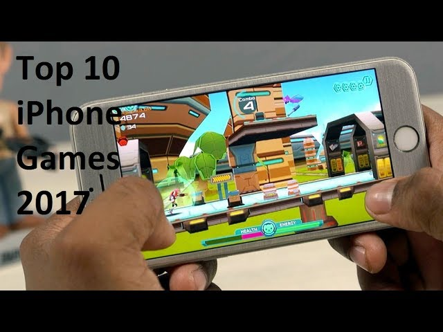 TOP 10 Best iPhone Games 2017 So Far – No internet required – iOS 9/10