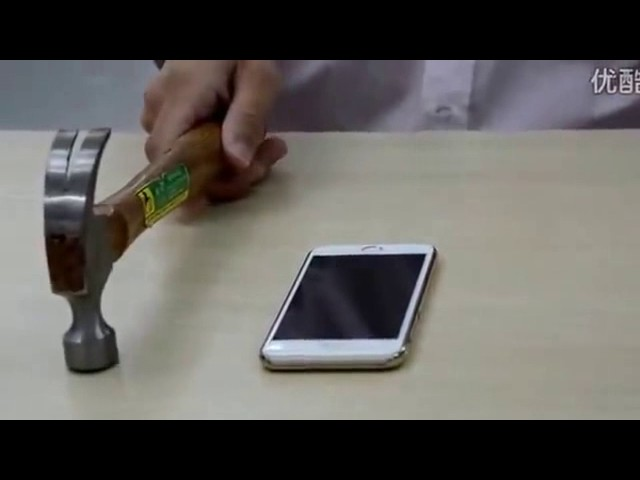 Nanotechnology based Nano Film explosion-proof membrane test for iPhone, Samsung, Huawei