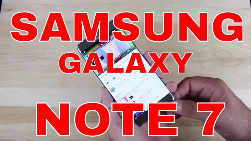 EXPLODING? Samsung Galaxy Note 7–  STOP!! 5 Minute Review/Reveal/Unbox